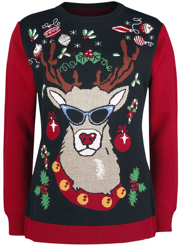 Reindeer With Sunglasses