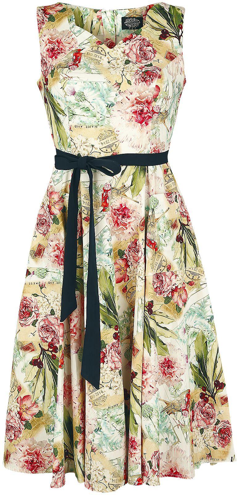 Kleider - H R London Warm Flower Swing Dress Mittellanges Kleid multicolor  - Onlineshop EMP