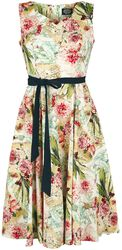 Warm Flower Swing Dress