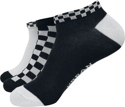 Sneaker Socks Checks 3er Pack