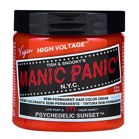 Manic Panic Psychedelic Sunset - Classic  Haar-Farben  orange