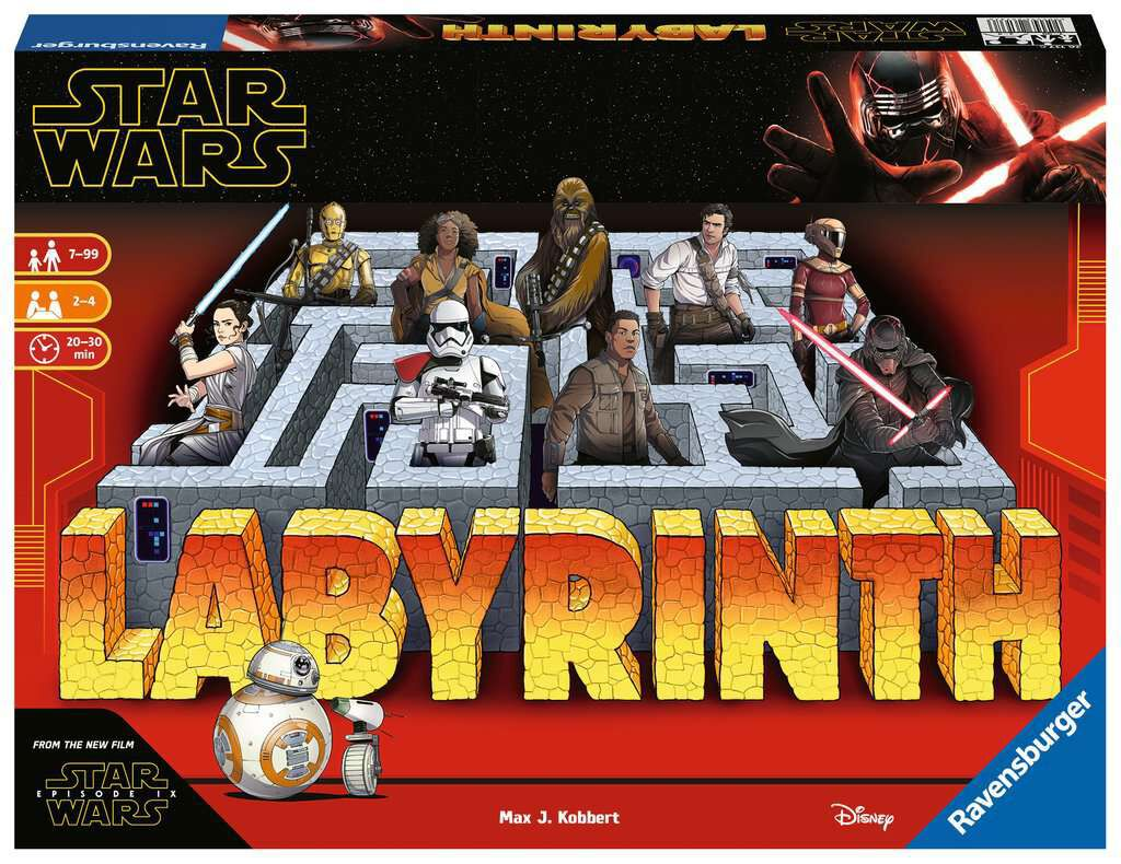 Image of Star Wars Das verrückte Labyrinth Brettspiel multicolor