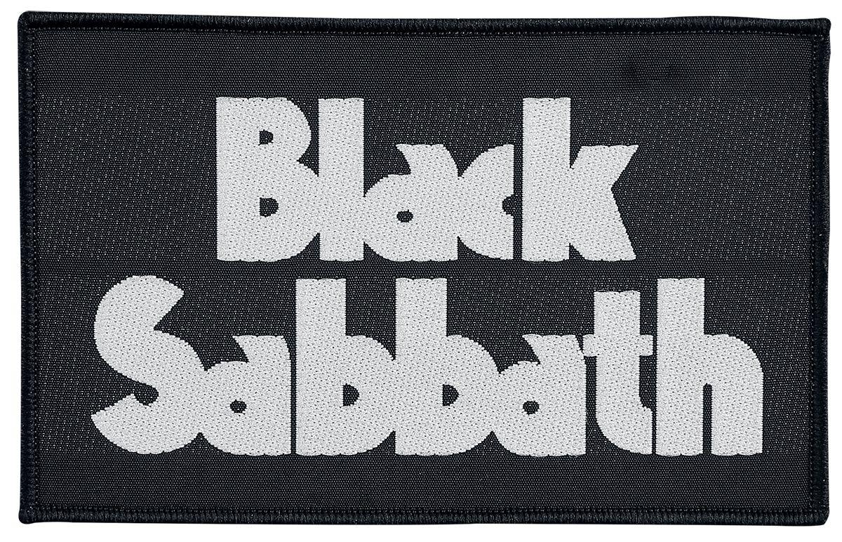 Black Sabbath Black Sabbath Logo  Patch  multicolor