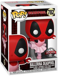 30th Anniversary - Ballerina Deadpool Vinyl Figur 782