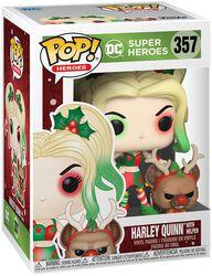 Harley Quinn With Helper (Holiday) Vinyl Figur 357