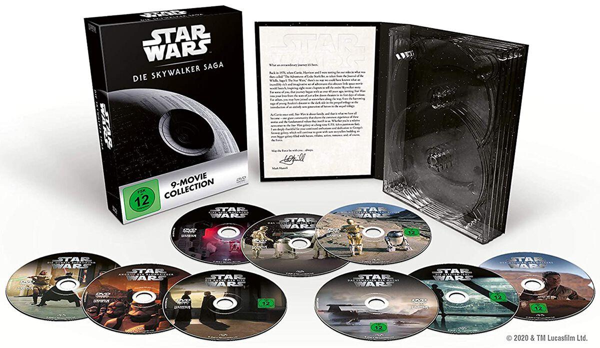 Image of Star Wars Star Wars 1-9 - Die Skywalker Saga 9-DVD Standard