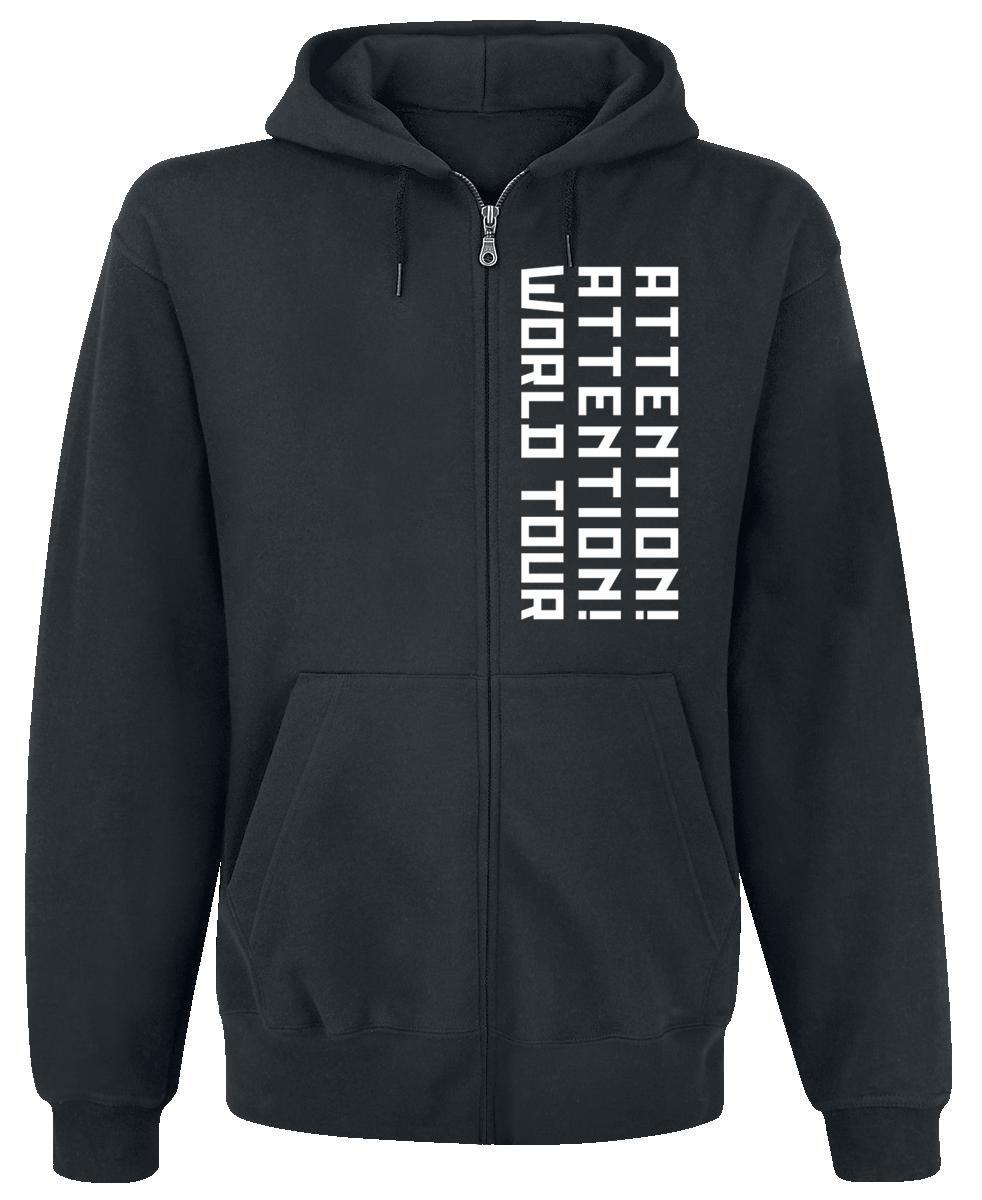 Shinedown - Big Attention Hoodie - Hooded zip - black image