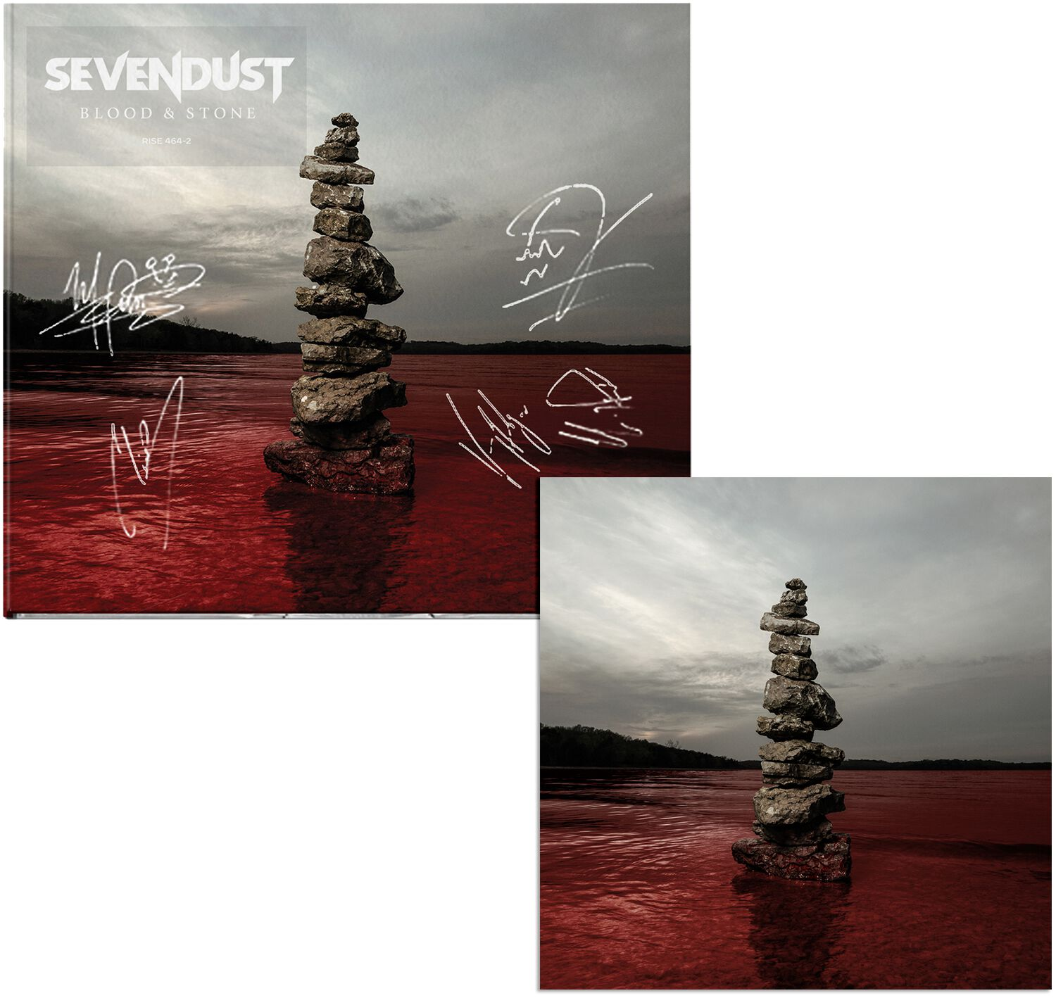 Image of Sevendust Blood & stone CD & Booklet Standard