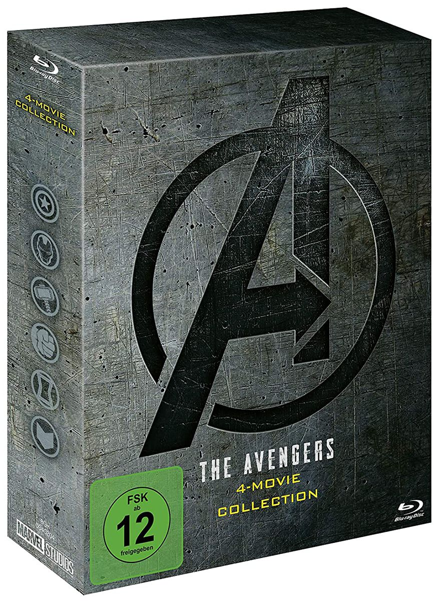 Image of Avengers 4-Movie Collection 5-Blu-ray Standard