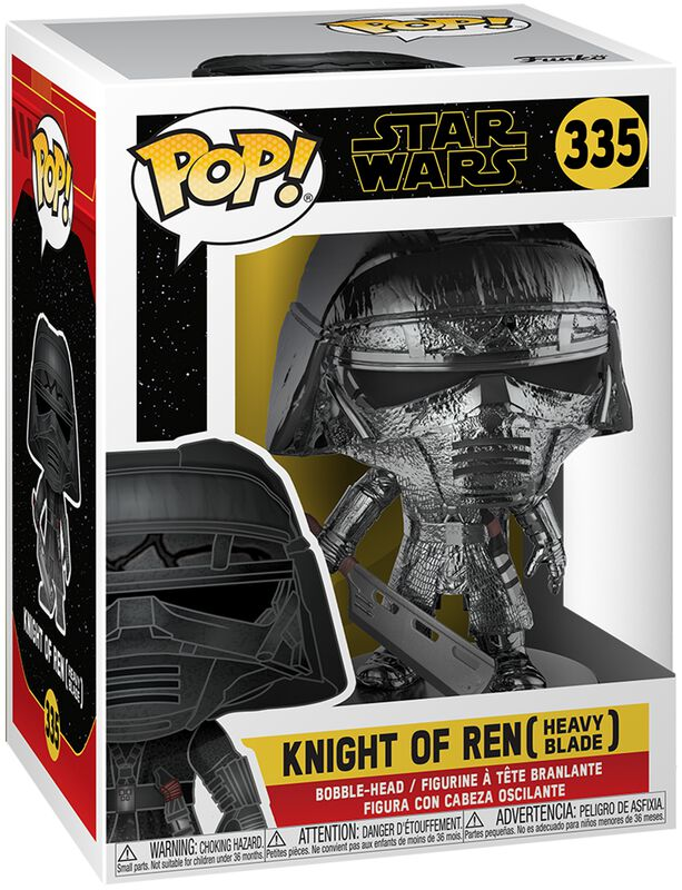Episode 9 - Der Aufstieg Skywalkers - Knight of Ren (Heavy Blade) (Chrome) Vinyl Figur 335