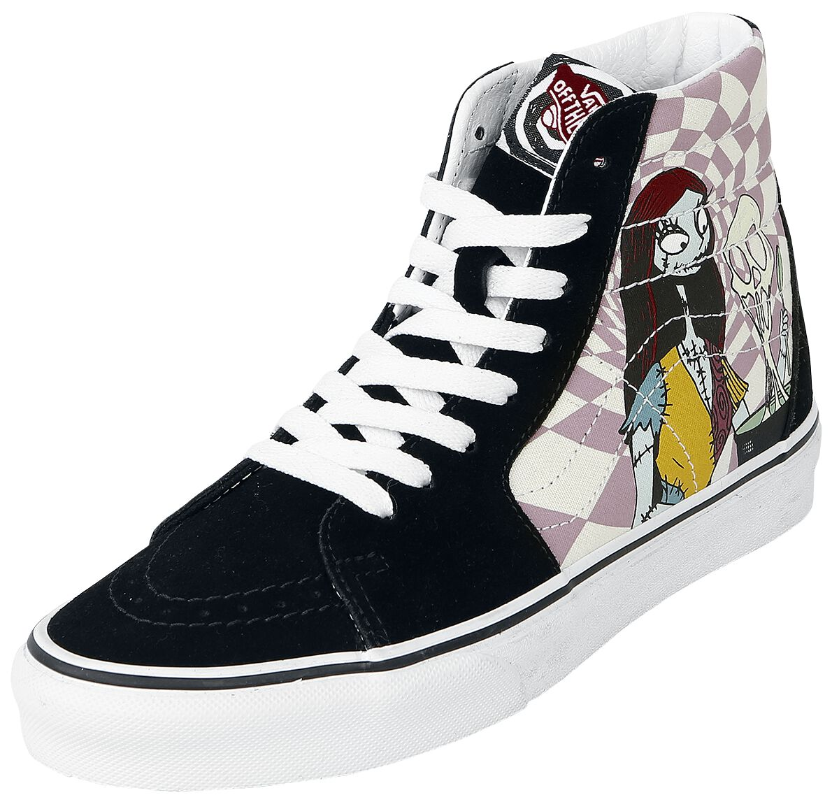 Sneakers für Frauen - Vans SK8 Hi Sally (Disney) Nightmare Before Christmas Sneaker high schwarz pink  - Onlineshop EMP