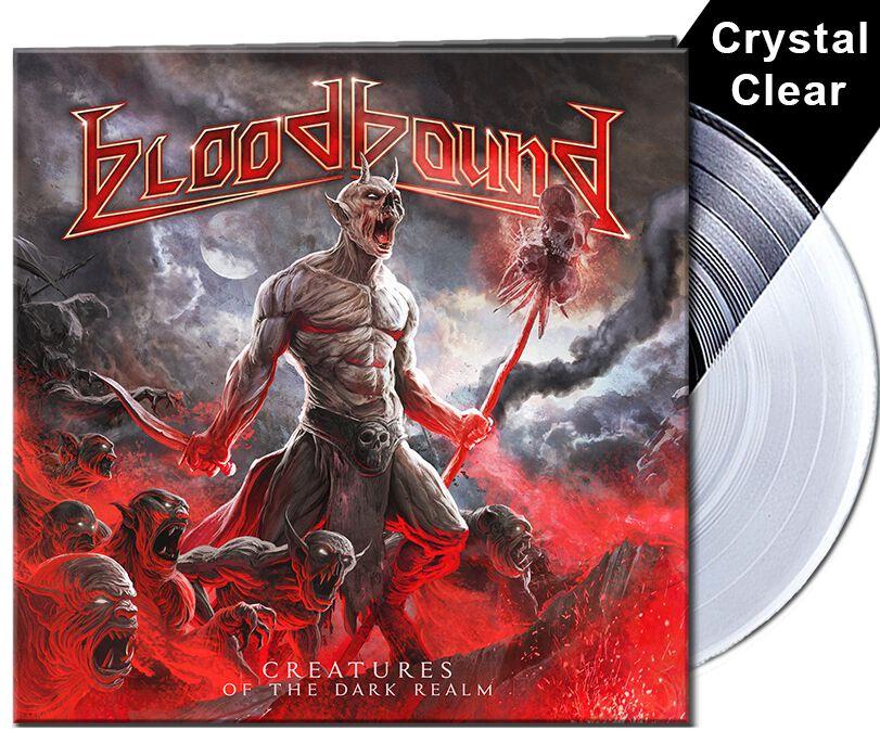 Bloodbound Creatures of the dark realm LP klar AFM 7641