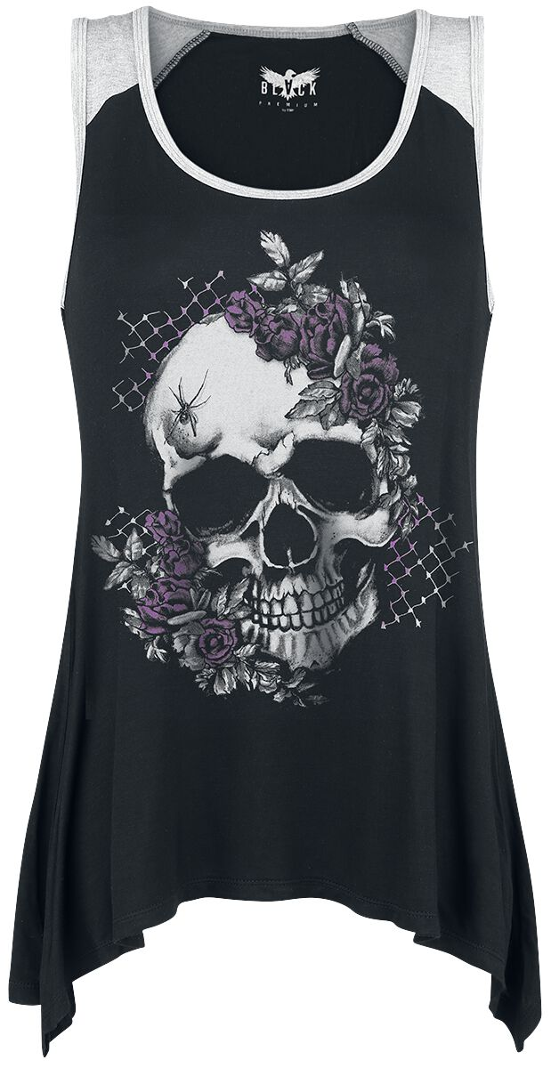 Black Premium by EMP Point At You Top black grey