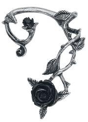 Black Rose Ear Wrap