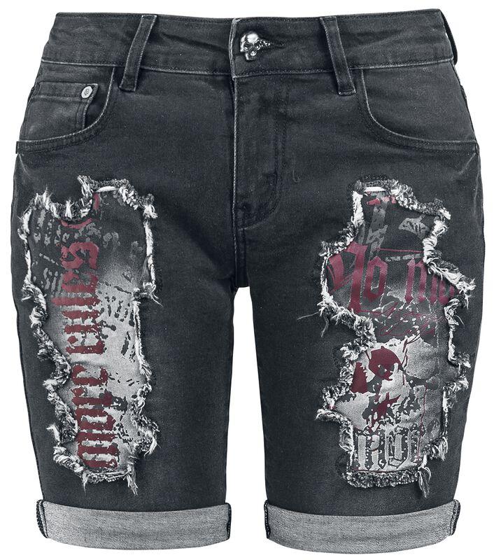 Destroyed Shorts Rock Rebel