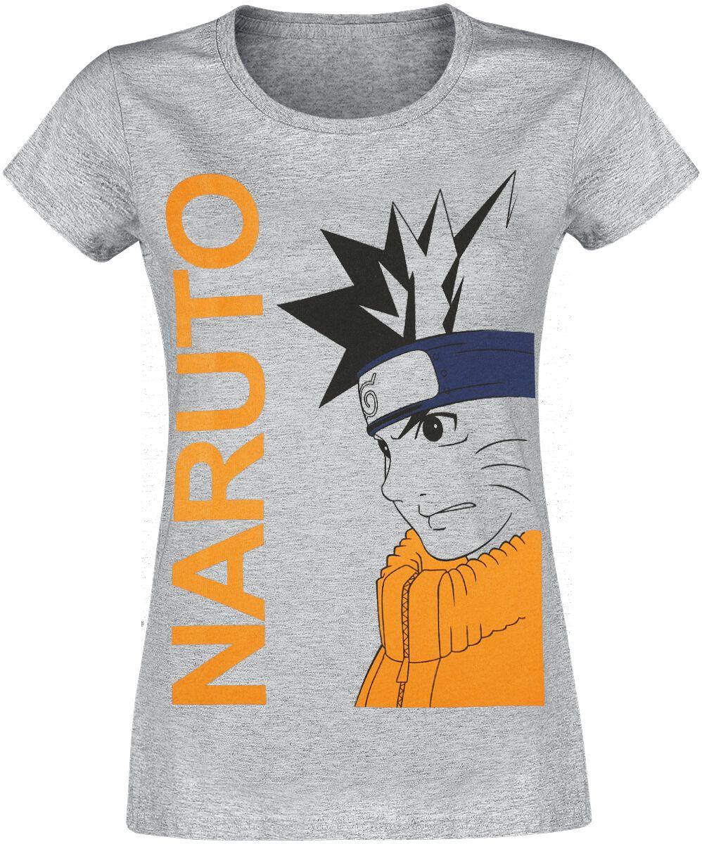 Naruto Naruto T-Shirt grau meliert WONARUTTS008