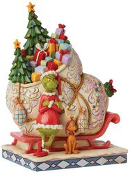 Grinch By Sleigh With Max
