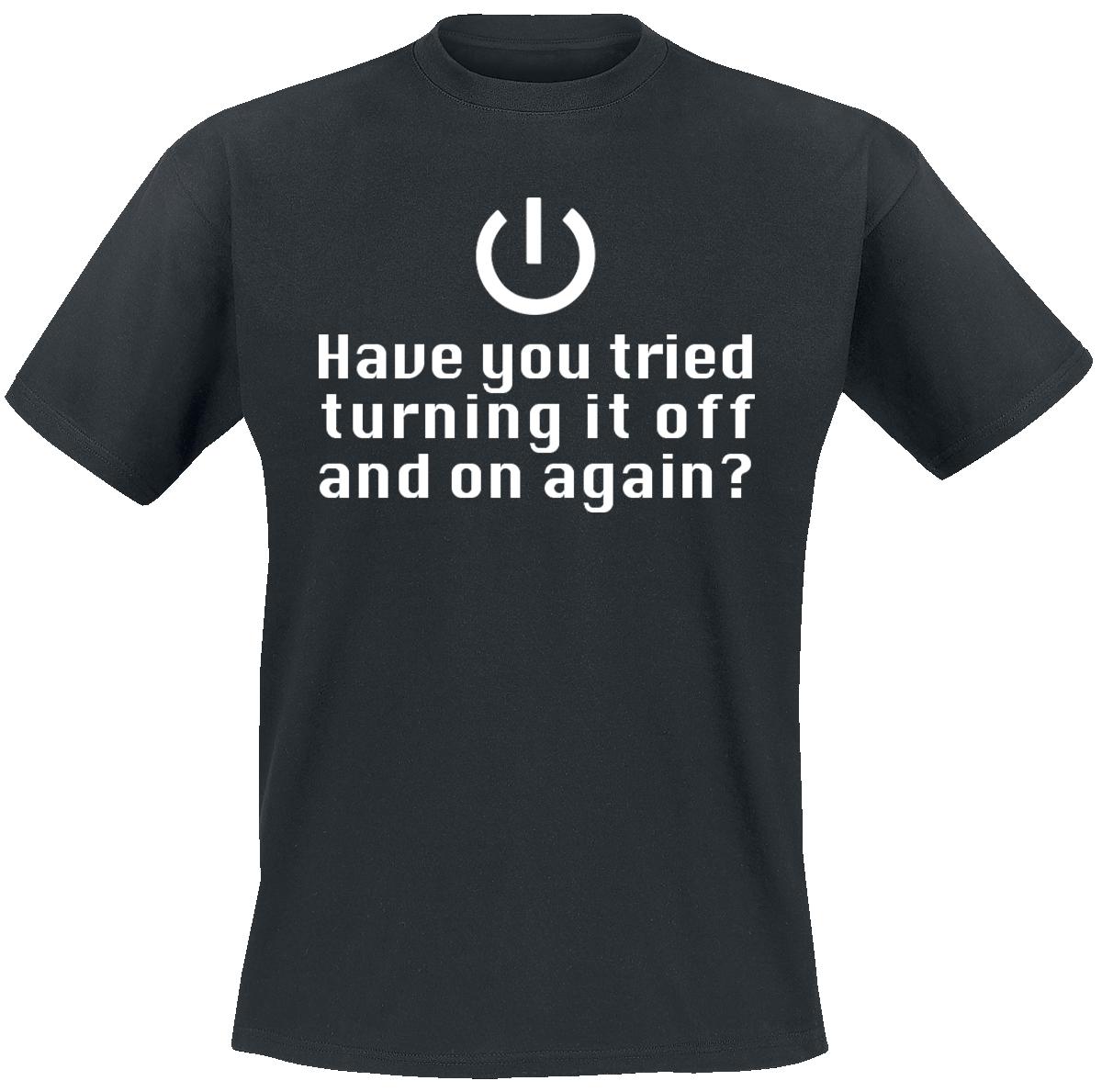 Turning It Off -  - T-Shirt - black image