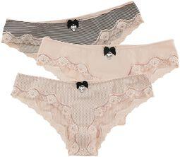 3er Set Panties