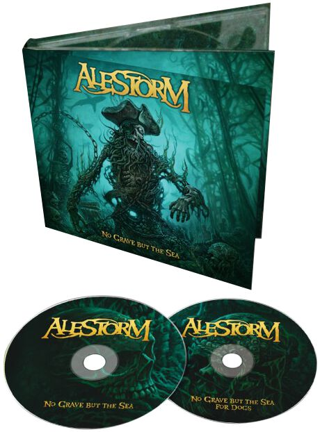 Image of Alestorm No grave but the sea 2-CD Standard
