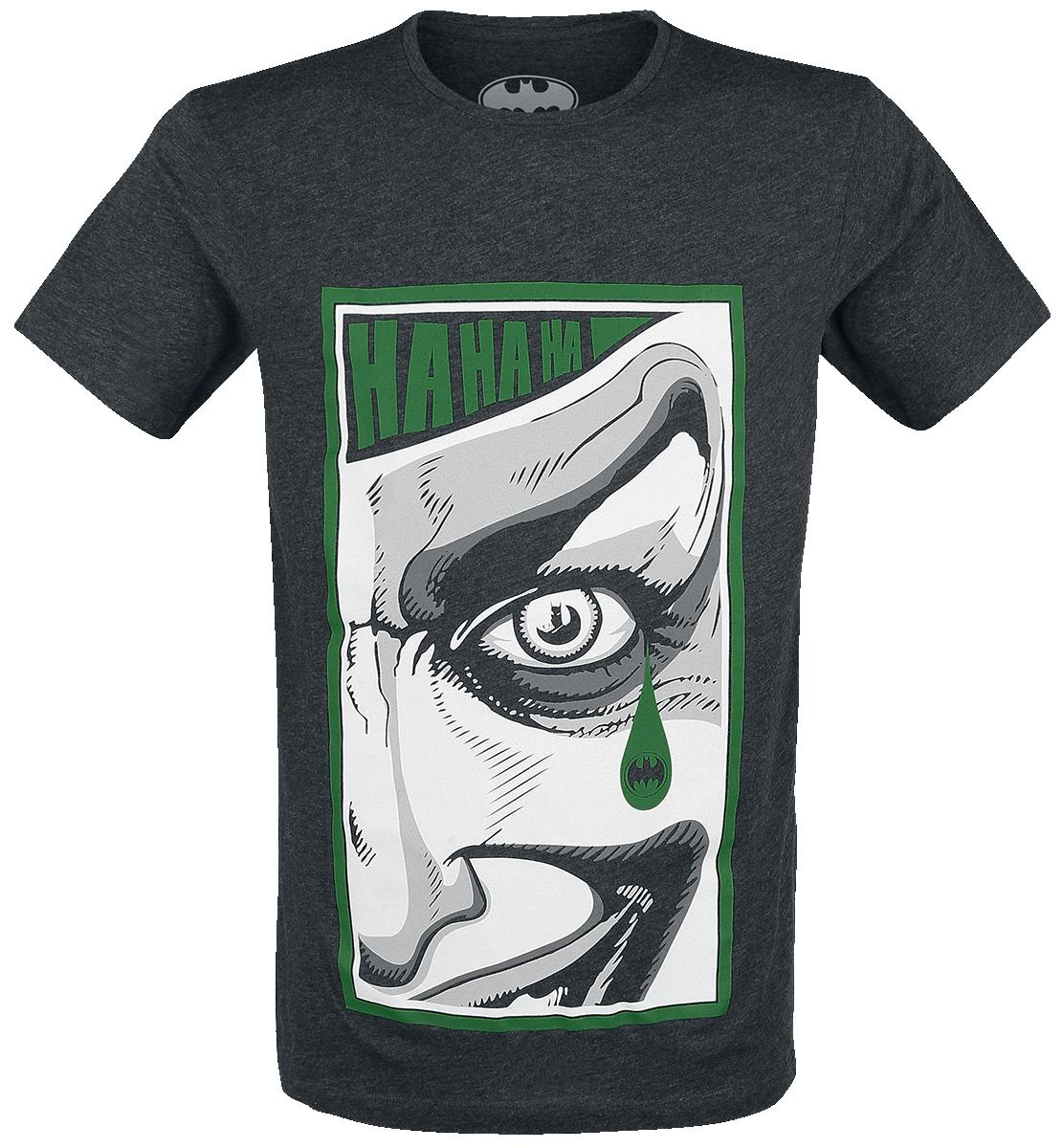 The Joker - Tear - T-Shirt - mottled grey image