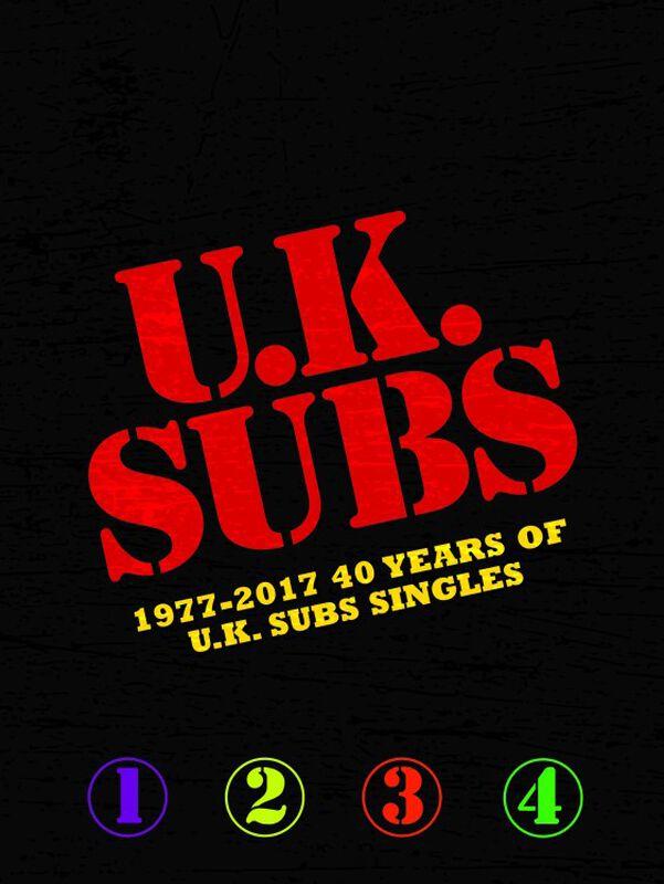 1977-2017 - 40 Years of UK Subs singles