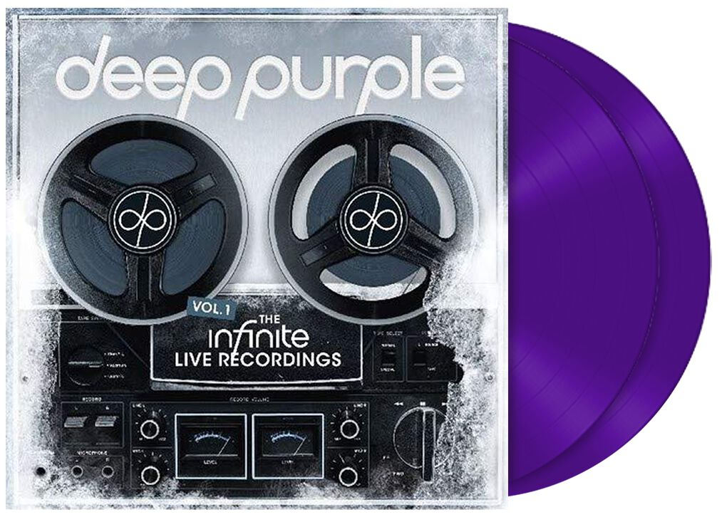 Image of Deep Purple InFinite 3-LP lila
