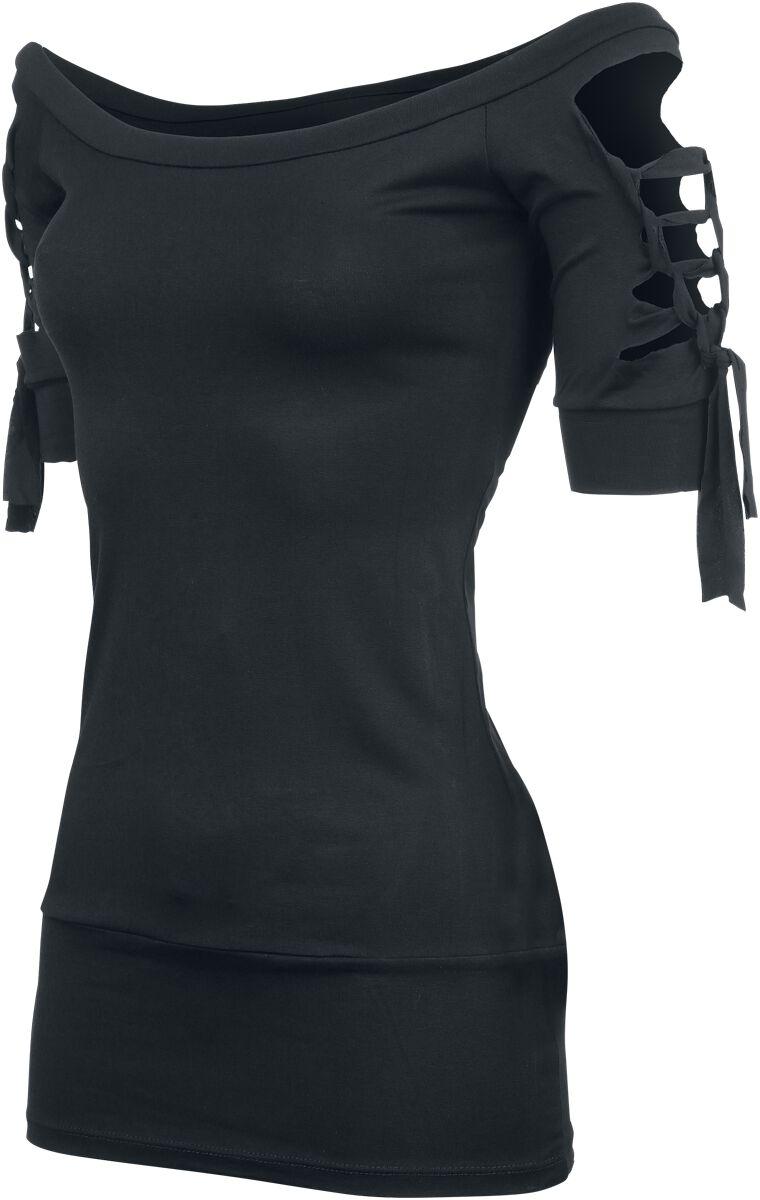 Outer Vision Kork T-Shirt schwarz L12149 Kork