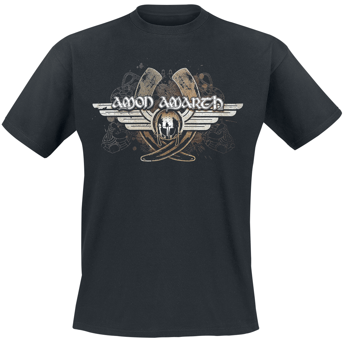 Amon Amarth - Horns - T-Shirt - schwarz