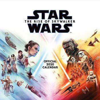 Episode 9 - Der Aufstieg Skywalkers . Wandkalender 2020