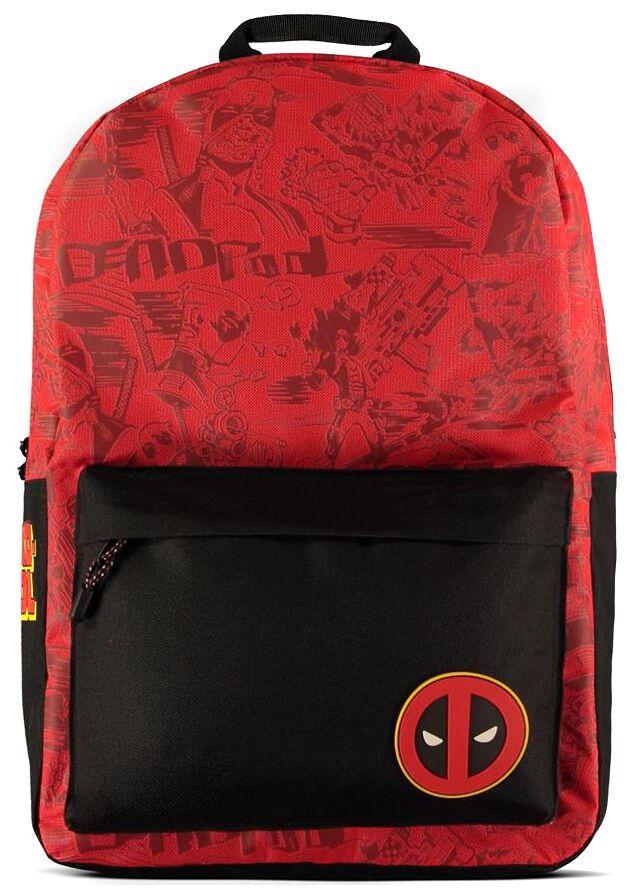 Deadpool Grafitti Rucksack rot schwarz BP241074DED