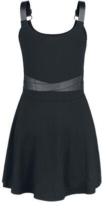 Kurzes Kleid mit Bondage-Details