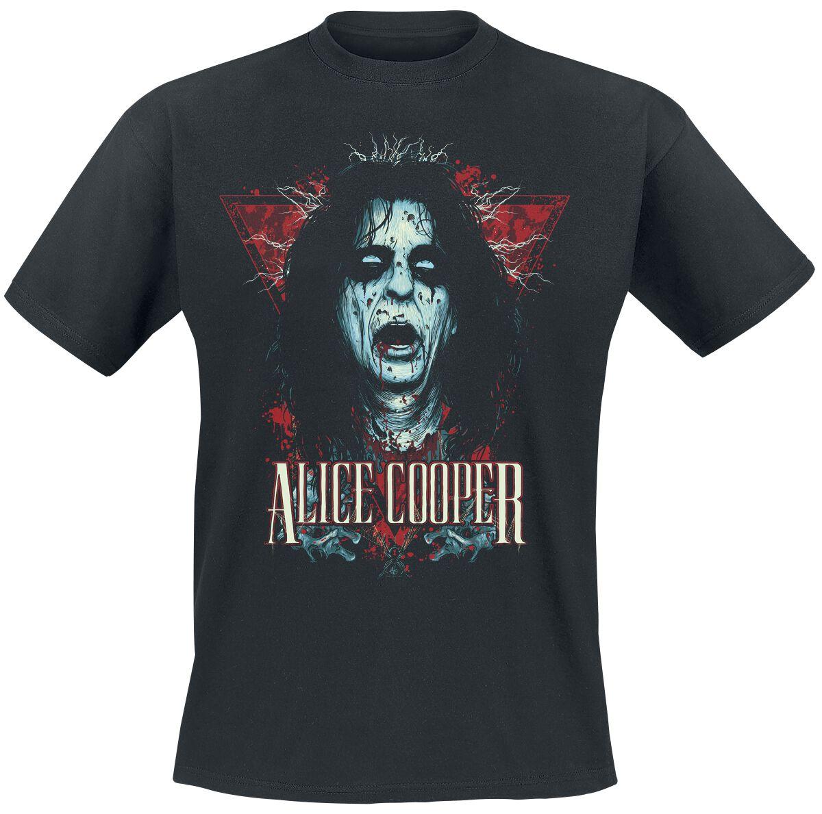 Image of Alice Cooper Decap T-Shirt schwarz