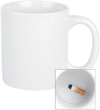 Zigarette Gross Mug - Tasse mit Zigarette