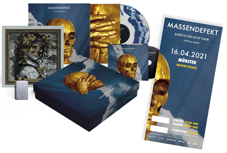 Image of Massendefekt Zurück ins Licht - Münster - 16.04.2021 - Skaters Palace CD & LP & Ticket Standard