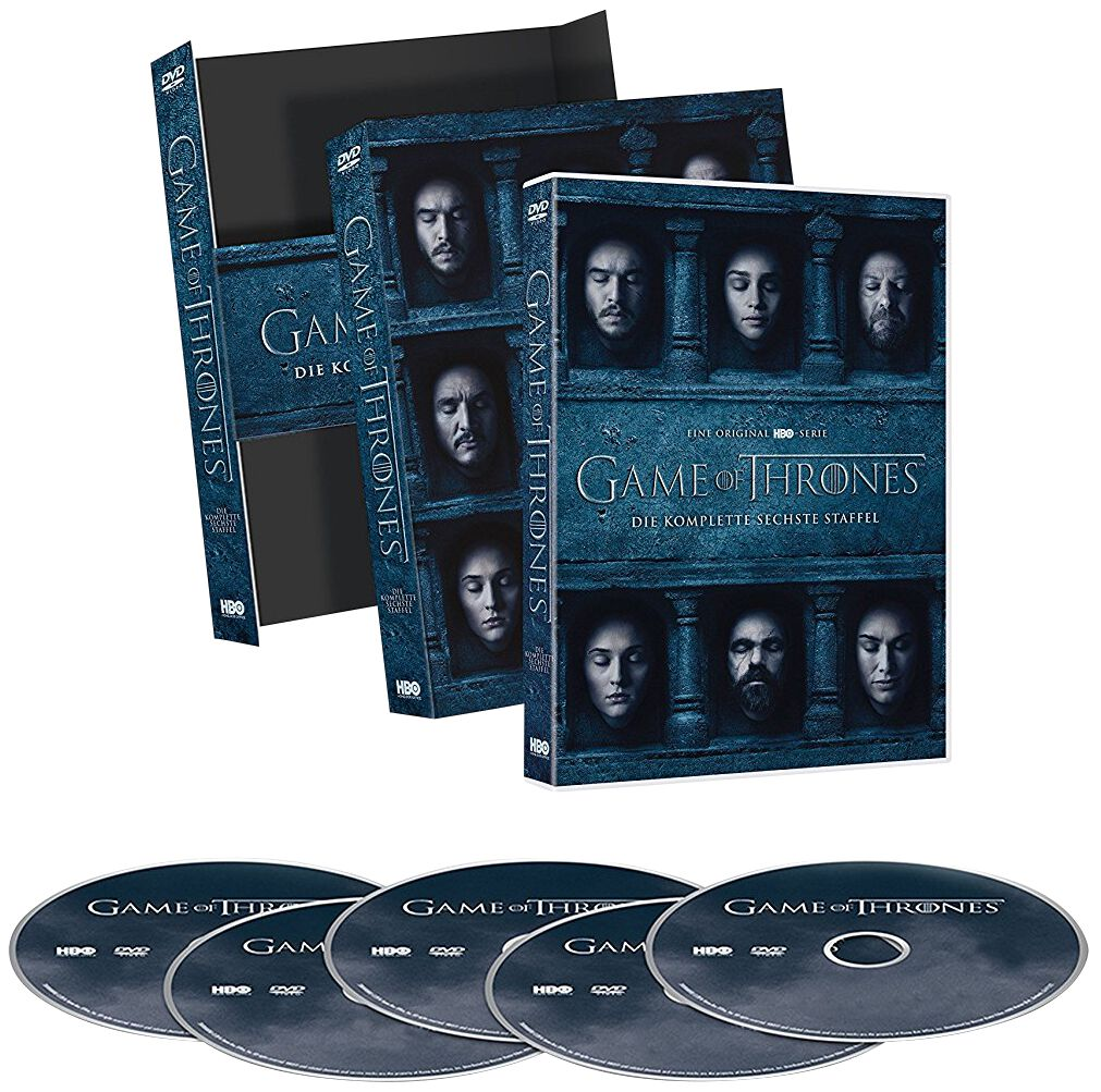 Image of Game Of Thrones Die komplette 6. Staffel 5-DVD Standard