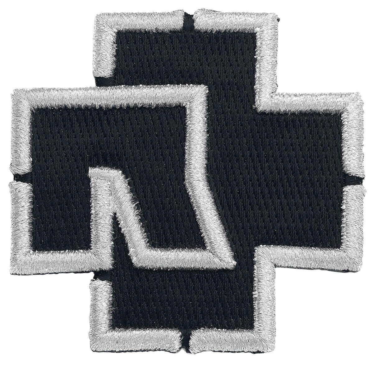 """Rammstein Rammstein Logo Patch schwarz Rammstein Aufnäher """"Logo"""""""