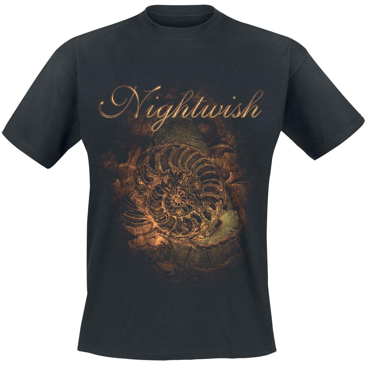 Nightwish Ammonite T-Shirt schwarz