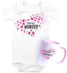 Babybody + Tasse Kleines Wunder