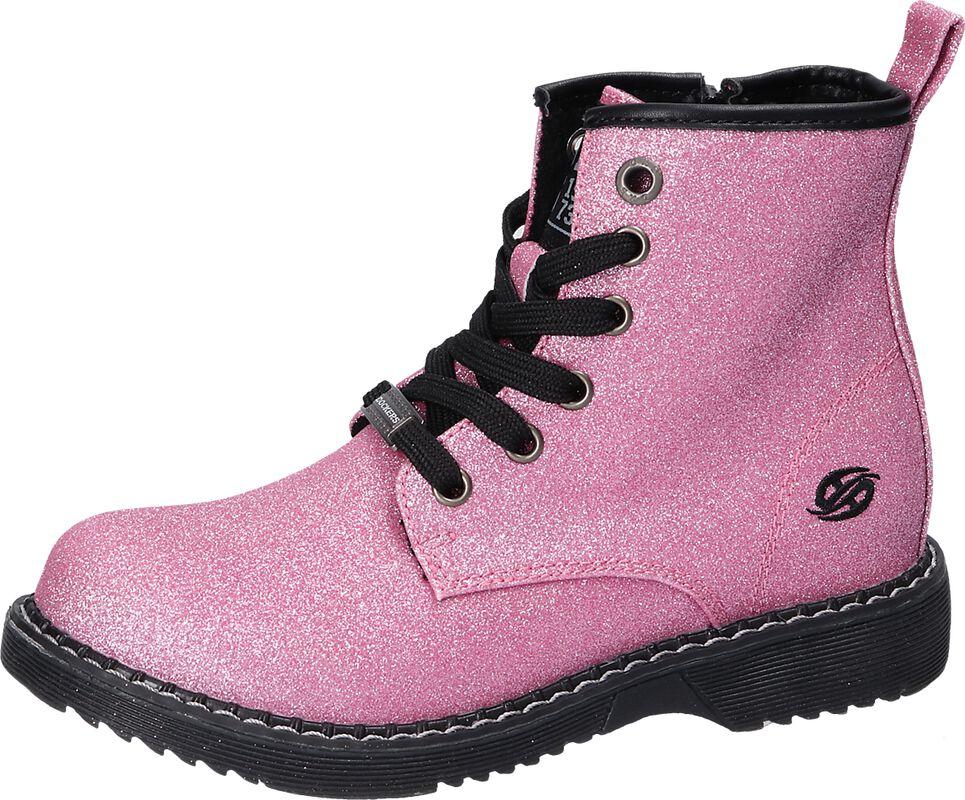 Pink Glitter Boots