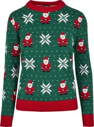 Ladies Santa Christmas Sweater