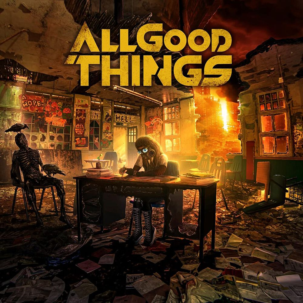 Image of All Good Things A hope in hell CD Standard