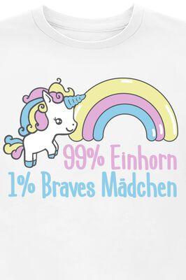 99% Einhorn 1% Braves Mädchen