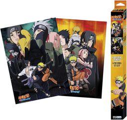 Shippuden - Ninjas - Poster 2er Set Chibi Design