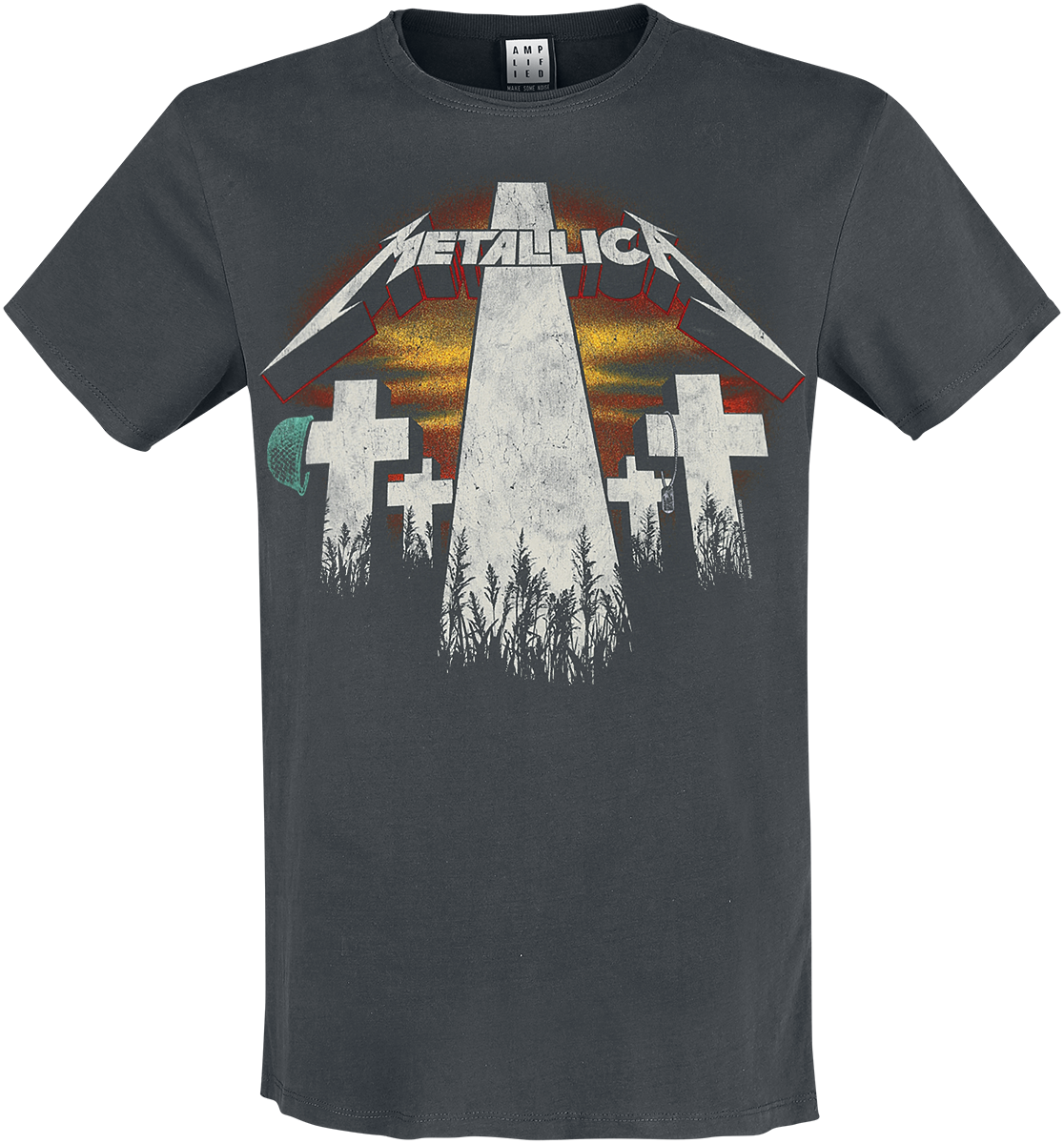 Metallica - Amplified Collection - Master Of Puppets Revamp - T-Shirt - charcoal image
