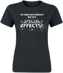 Ich habe keine Macken! Das sind Special Effects!