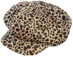 Olga Leopard Cap