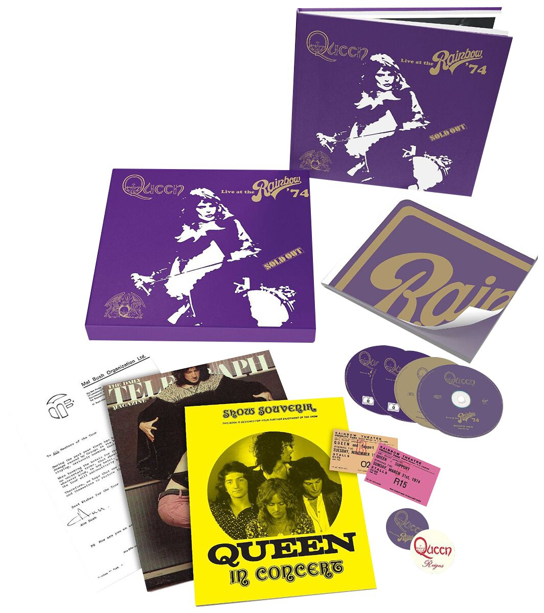 Image of Queen Live at the rainbow 2-CD & DVD & Blu-ray Standard