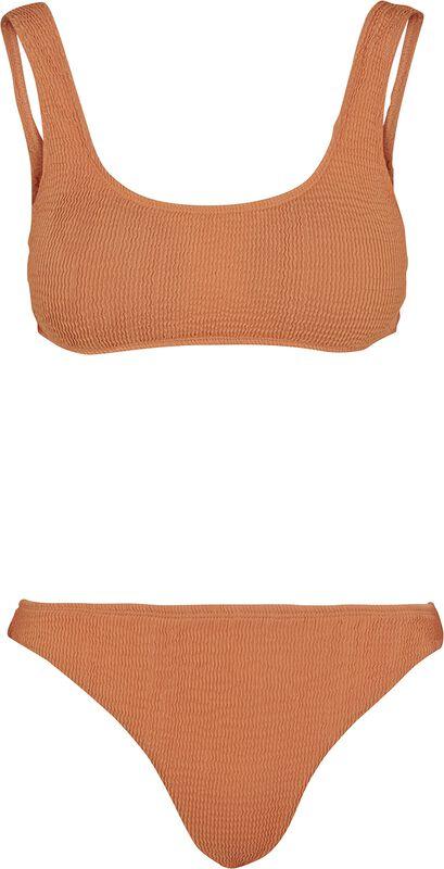 Ladies Tanktop Crinkle Bikini