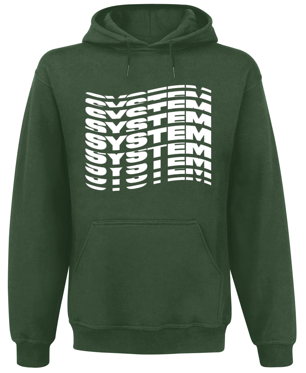 System Of A Down - System Wave - Hooded sweatshirt - green image